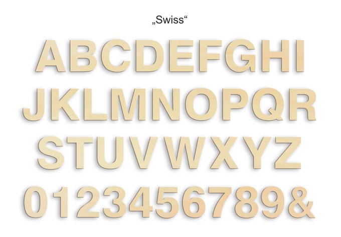 Besch Holzbuchstabe 15 cm A