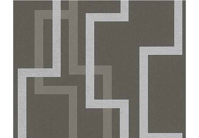 A s cr ation mustertapete tapete fleece royal 961883 grau for Fleece tapete