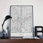 Poster - Mappa di Berlino