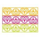 Wandtattoo Liebe ist das Band... (2-farbig) + 3D Deko-Herzen (4-teilig) mit Tesa-Tack