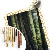 Poster Grüner Bambus