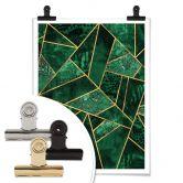 Poster Fredriksson - Dark Green Emeralds