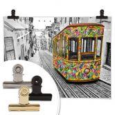 Poster Ben Heine - Tram in Lissabon