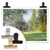 Poster Monet - Der Park Monceau