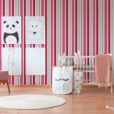 Esprit Kids Vliestapete Sweet Butterfly grau,rosa,rot