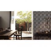 A.S. Création Fleece Wallpaper Boho Love metallic, grey, black
