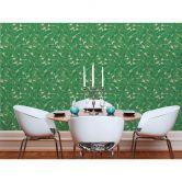Livingwalls Vliestapete Metropolitan Stories Francesca Milano beige, grün, metallic
