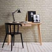 A.S. Création Vliestapete Neue Bude 2.0 Stones & Structure Tapete in Steinoptik Backstein grau, rot, weiß