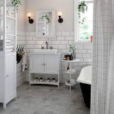 Badezimmer-Spiegelschrank im Landhausstil