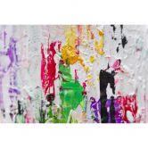 Acryl Gemälde handgemalt Abstraktion II 150x50 cm