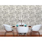 Michalsky Living Vliestapete Dream Again Tapete floral grau, weiß, beige