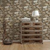 Vliestapete Premium Wall Tapete in Naturstein Optik beige, creme