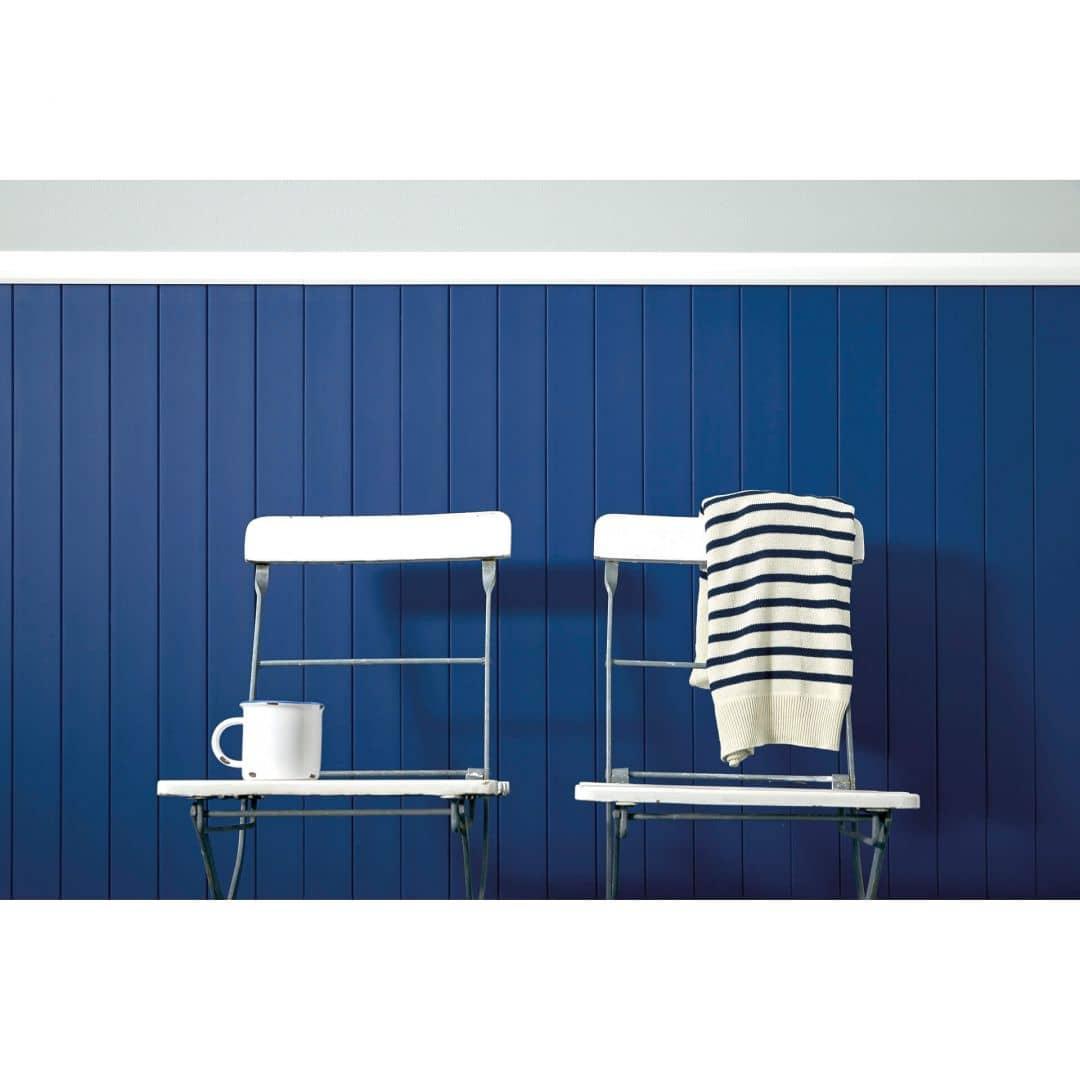 Colourcourage® Premium Wandfarbe Matt Navy Blue