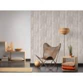 A.S. Création Tapete Authentic Walls 2 Tapete in Vintage Holz Optik beige, schwarz