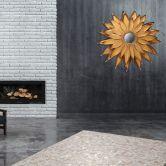 Metall Wandspiegel Lidia 101 Gold