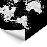 Tableau lumineux LED -  The World is a book - Négatif