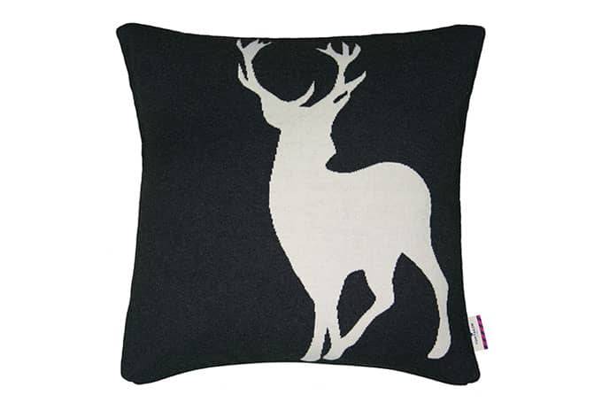 tom tailor kissenh lle t cosy deer 50x50 cm anthrazit ebay. Black Bedroom Furniture Sets. Home Design Ideas