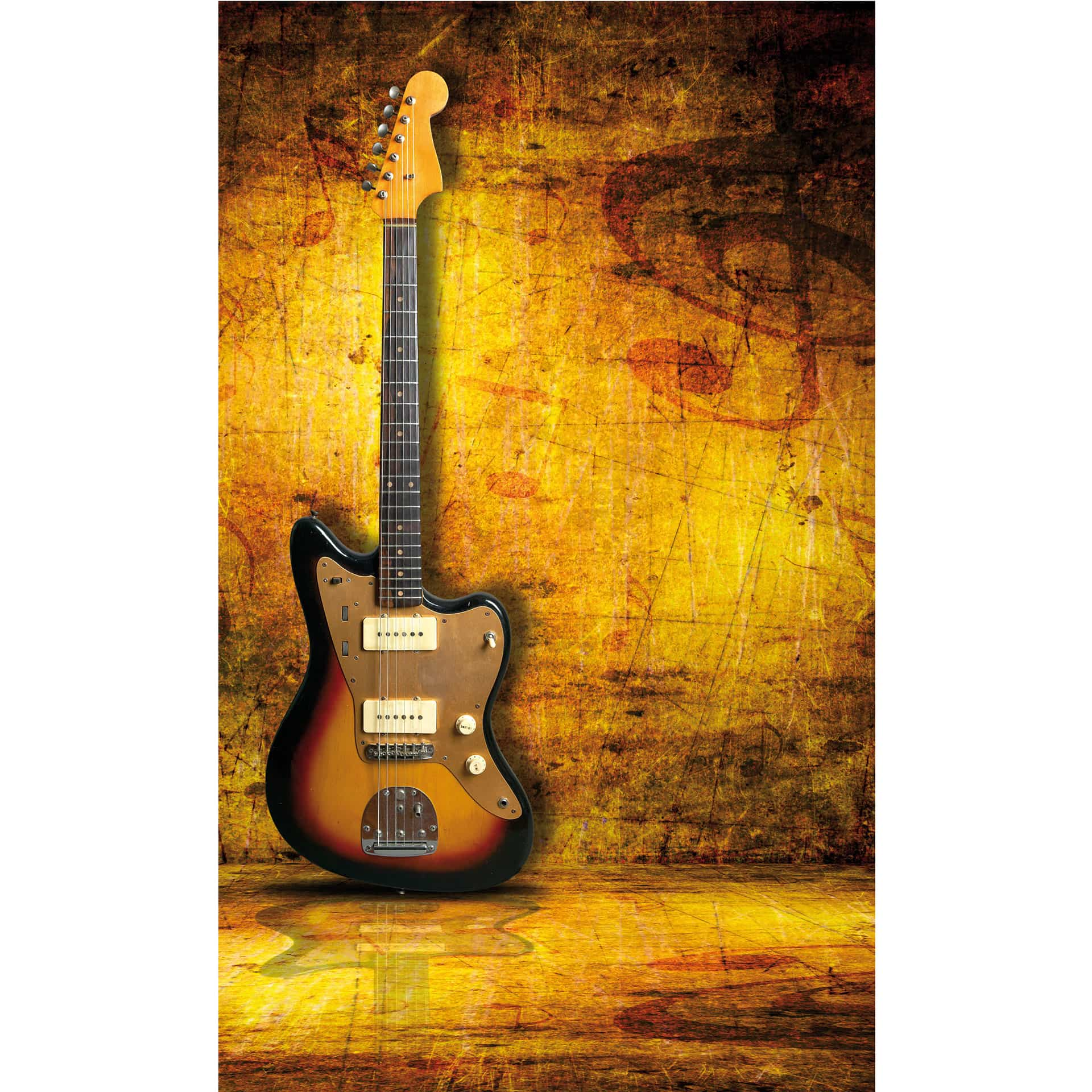 Beautiful Guitar Metal Wall Art Photos - Wall Art Collections ...