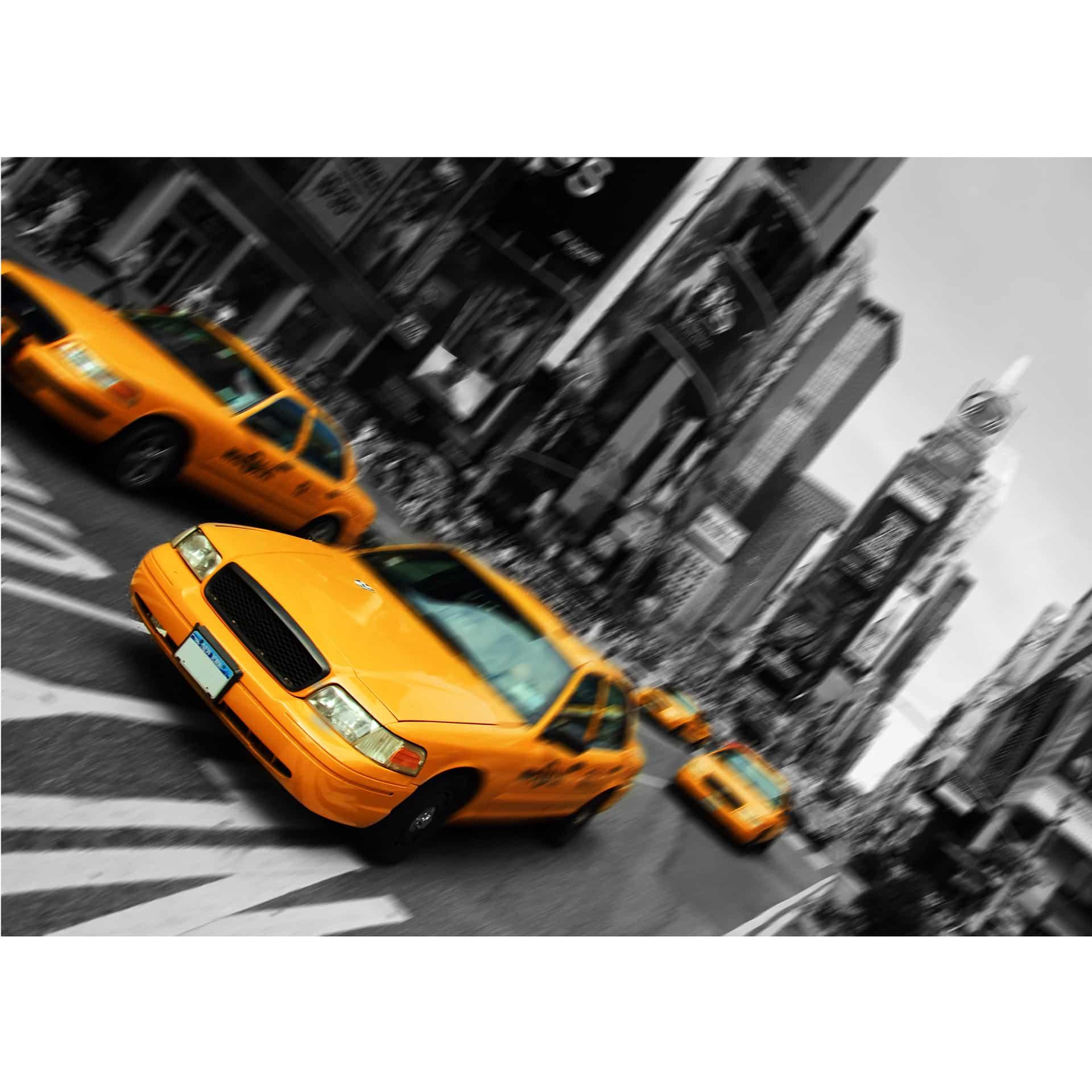 fototapete new york taxi von k l wall art wall. Black Bedroom Furniture Sets. Home Design Ideas