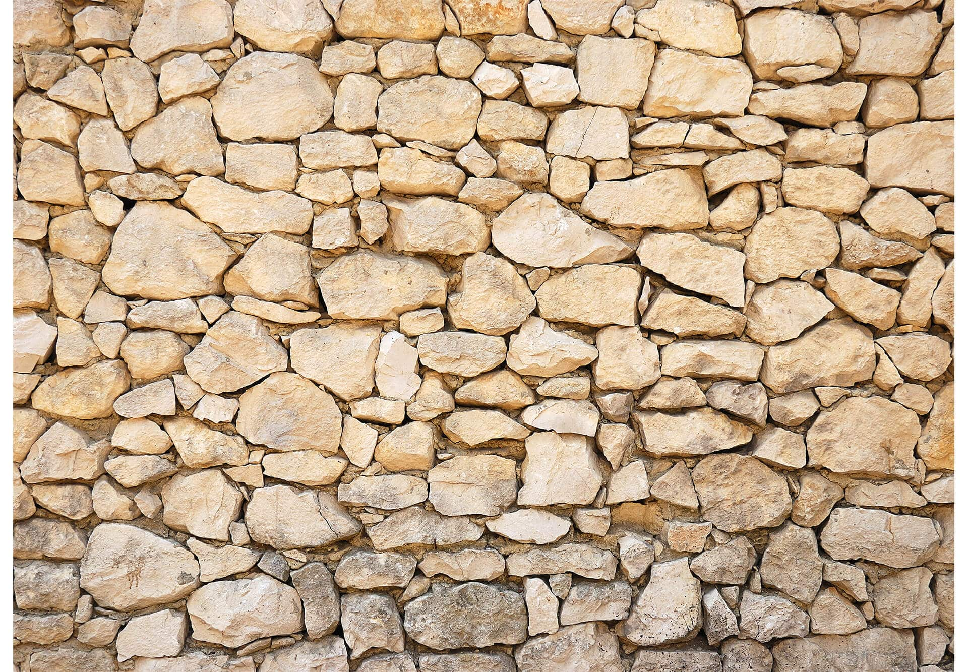Fototapete mauer maueroptik als dekoration wall - Piedra natural para paredes ...