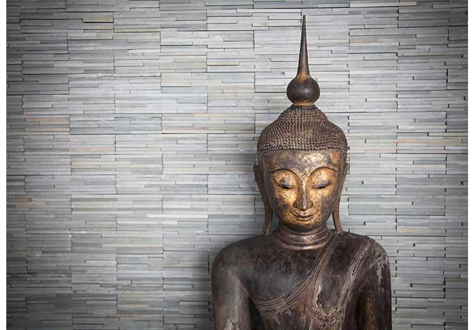 Fototapete Thailand Buddha - Ruhe und Entspannung für die ...