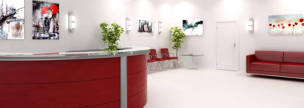business wandbilder dekoration f r arztpraxen wall. Black Bedroom Furniture Sets. Home Design Ideas