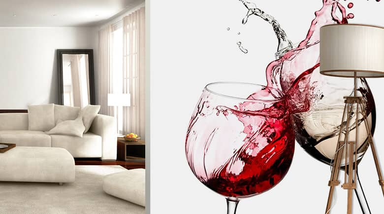 fototapeten mit wein und cocktailmotiven wall. Black Bedroom Furniture Sets. Home Design Ideas