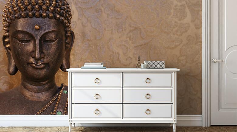 Fototapeten mit Buddha-Motiven   wall-art.de