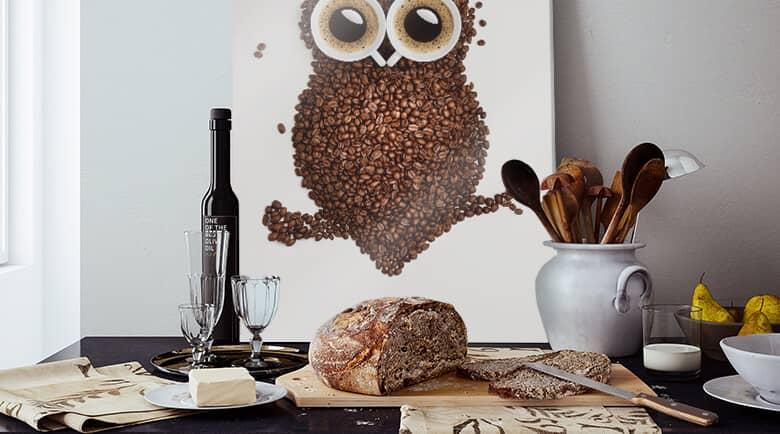 Glasbilder für die Küche | wall-art.de