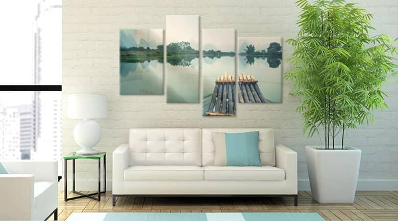 mehrteilige glasbilder im gro en wandbilder shop wall. Black Bedroom Furniture Sets. Home Design Ideas