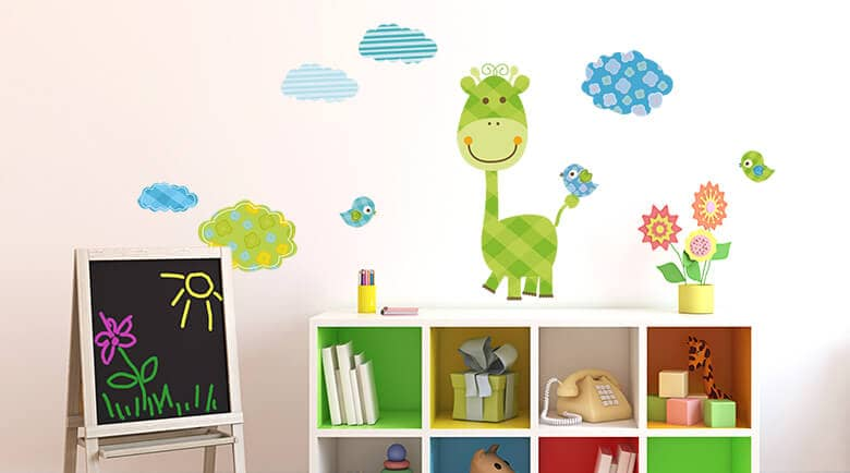 Wandtattoos wandsticker f r kinder online kaufen wall for Wandtattoo babyzimmer junge
