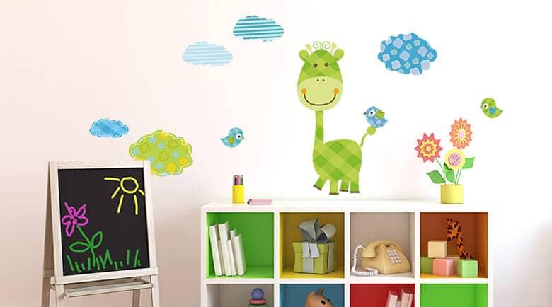Wandtattoos wandsticker f r kinder online kaufen wall - Kinder wandbilder ...