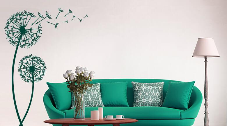 wandtattoo pflanzen im dekoshop wall. Black Bedroom Furniture Sets. Home Design Ideas