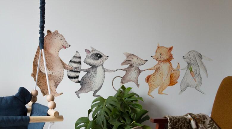 Wandtattoo Tiere Online Kaufen Wall Art De