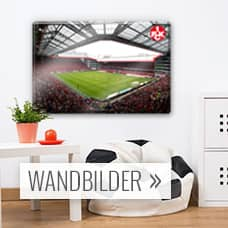 1 fc kaiserslautern fanshop wandbilder wandtattoos fototapeten wall. Black Bedroom Furniture Sets. Home Design Ideas