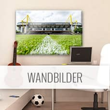 borussia dortmund fanshop wandbilder wandtattoos fototapeten wall. Black Bedroom Furniture Sets. Home Design Ideas