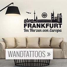 wandtattoo eintracht frankfurt prinsenvanderaa. Black Bedroom Furniture Sets. Home Design Ideas
