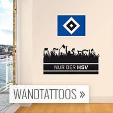 HSV Wandtattoos