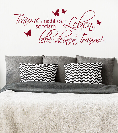 wandtattoo wandsticker und wandaufkleber wall. Black Bedroom Furniture Sets. Home Design Ideas