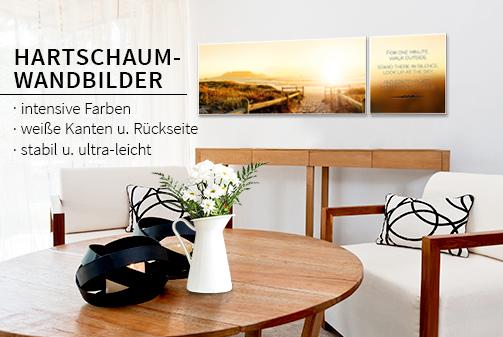 hartschaumbilder von wall. Black Bedroom Furniture Sets. Home Design Ideas