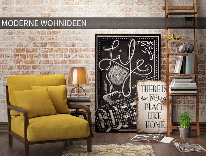 wohnwelten moderne wohnideen wall. Black Bedroom Furniture Sets. Home Design Ideas